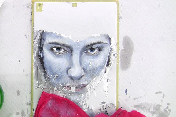 iPad oder iPhone Verzierung - Malerei wieder entfernen